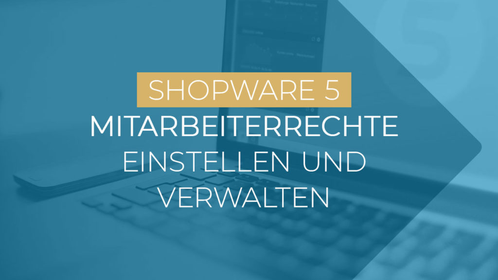 Shopware Mitarbeiterrechte Verwalten