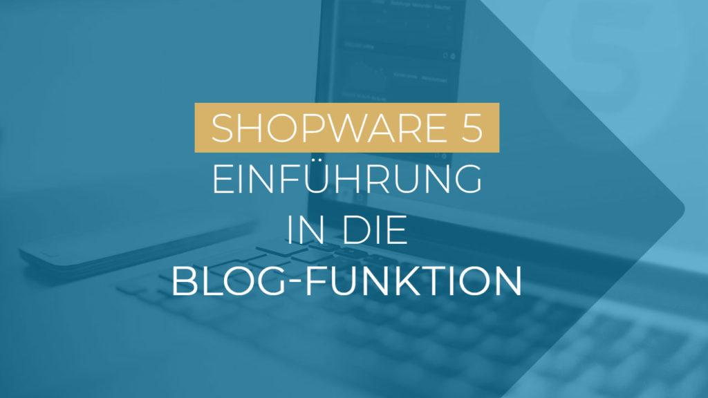 Shopware Blogfunktion Einführung