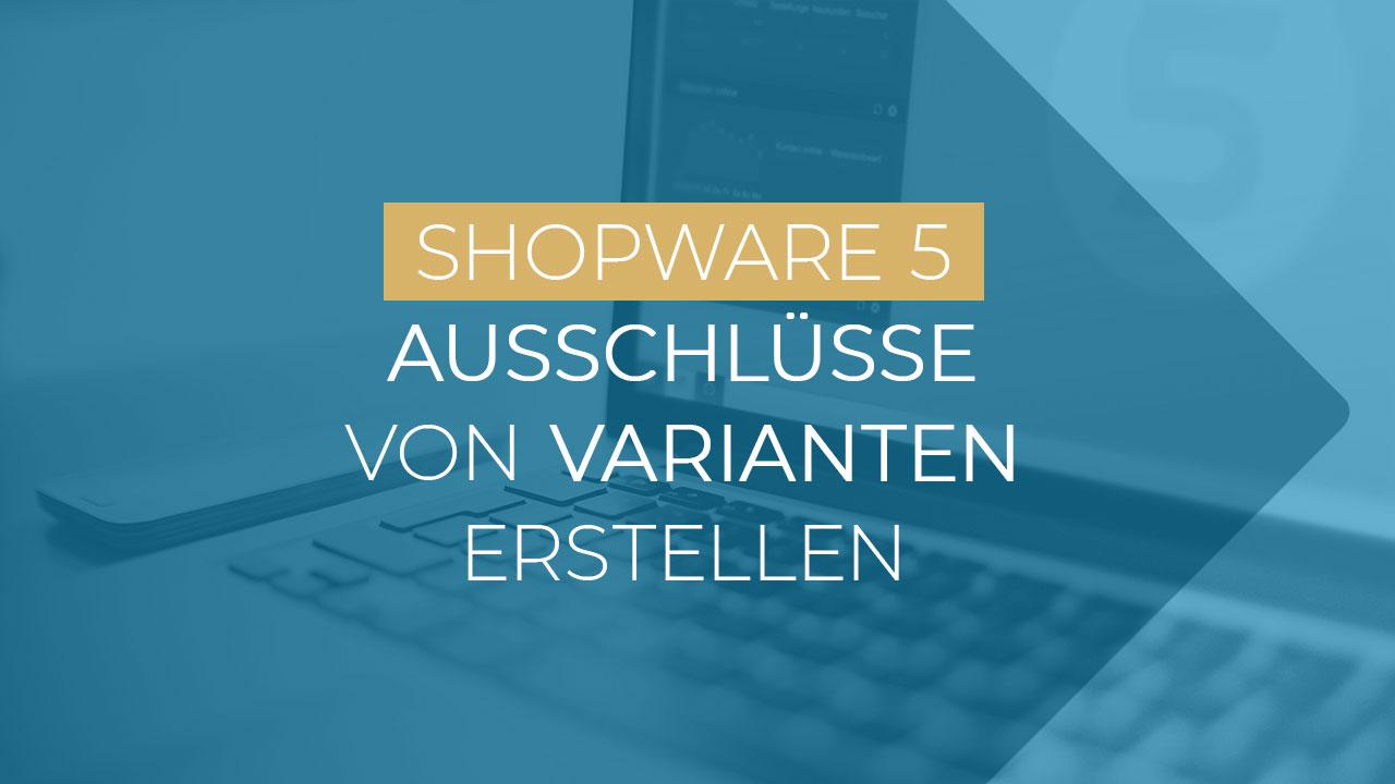 Shopware Ausschlüsse Varianten