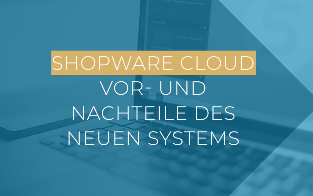 Shopware Cloud: Vor- und Nachteile des neuen Systems