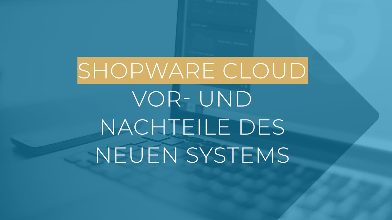 Shopware Cloud Teaser